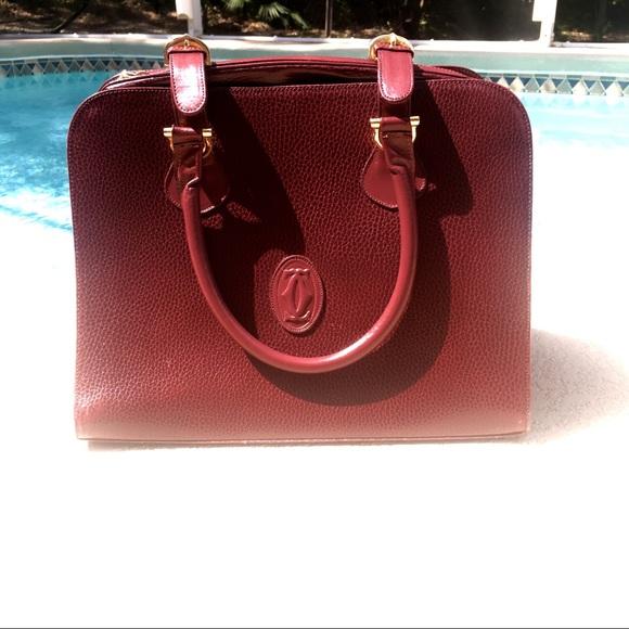 2a03f84469c4 Cartier Handbags - Cartier Borsa Bauletto Vintage w  Matching Wallet
